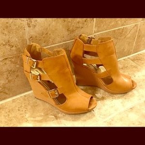 Charming Charlie Wedge Sandals